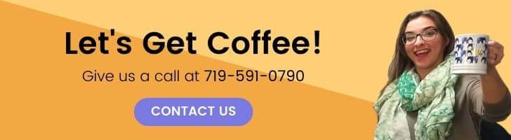 Sarah inviting to call and get coffee