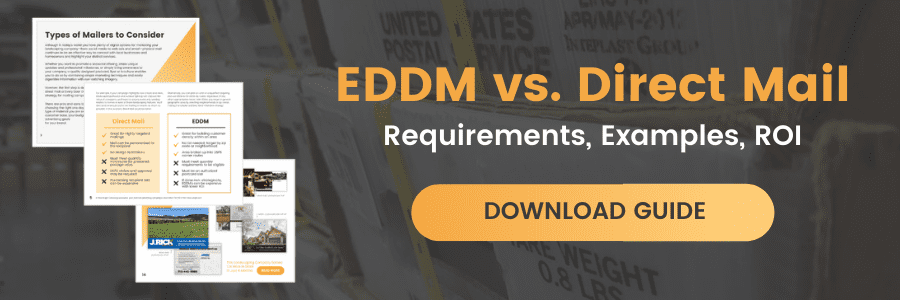 EDDM vs. Direct Mail; Requirements, Examples, ROI - Download Guide