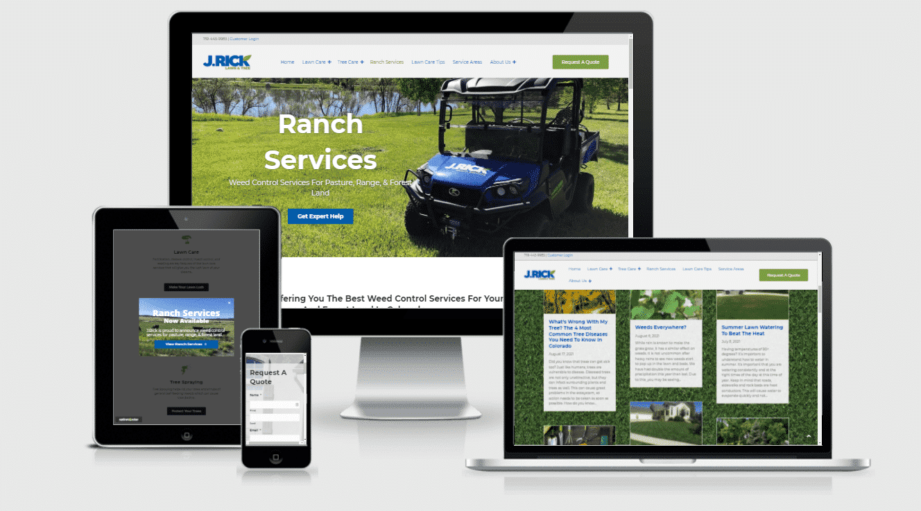 Lawn and Tree Company Mail Campaign and Website Expansion Marketing Case Study