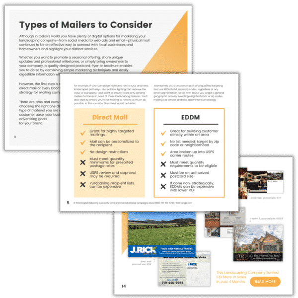 EDDM and Direct Mail Guide Lead Magnet Preview