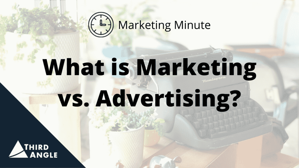 TAV_MM What is Marketing vs Advertising - Thumbnail