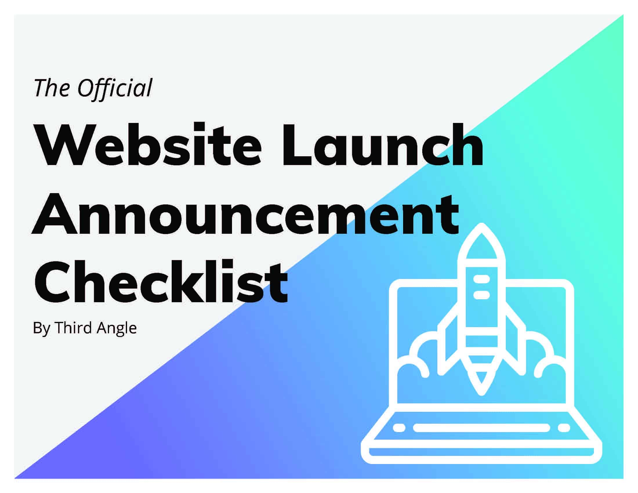Third Angle - Website Launch Announcement Checklist cover_Page_1