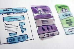 Website Wireframes or One Page Websites