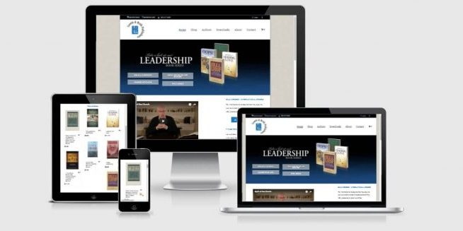 Website screenshot of Lewis & Roth Publishers