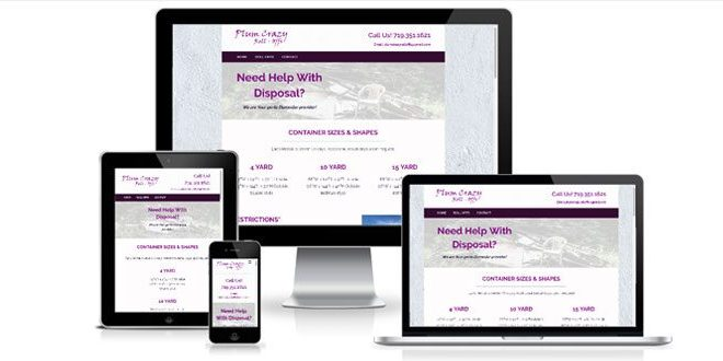 Plum Crazy Rolloffs website screenshots