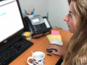 Preparing a file for print at a printing company